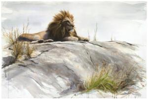 The lion rock